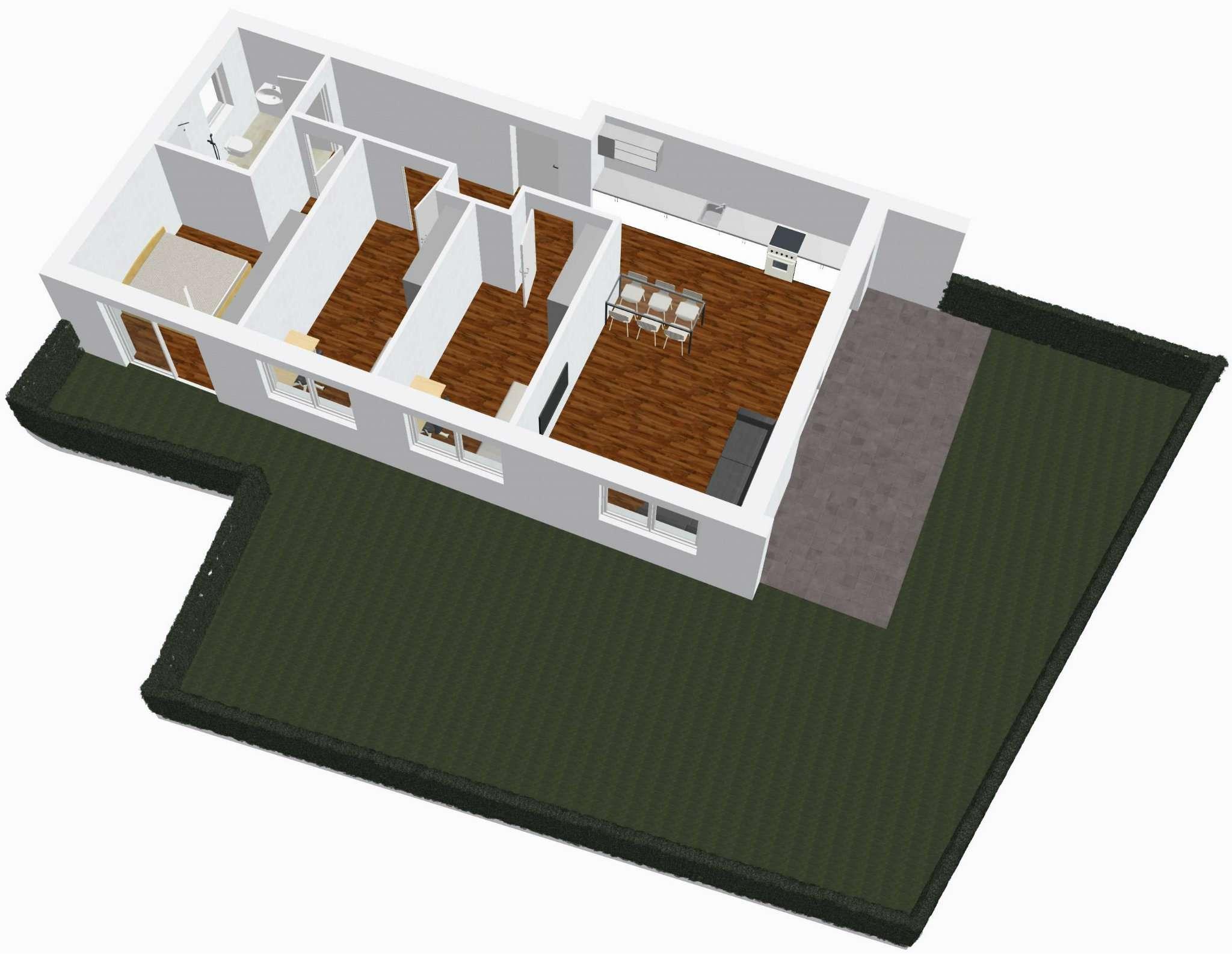 Appartamento in vendita a Lana, 4 locali, prezzo € 400.000 | Cambio Casa.it
