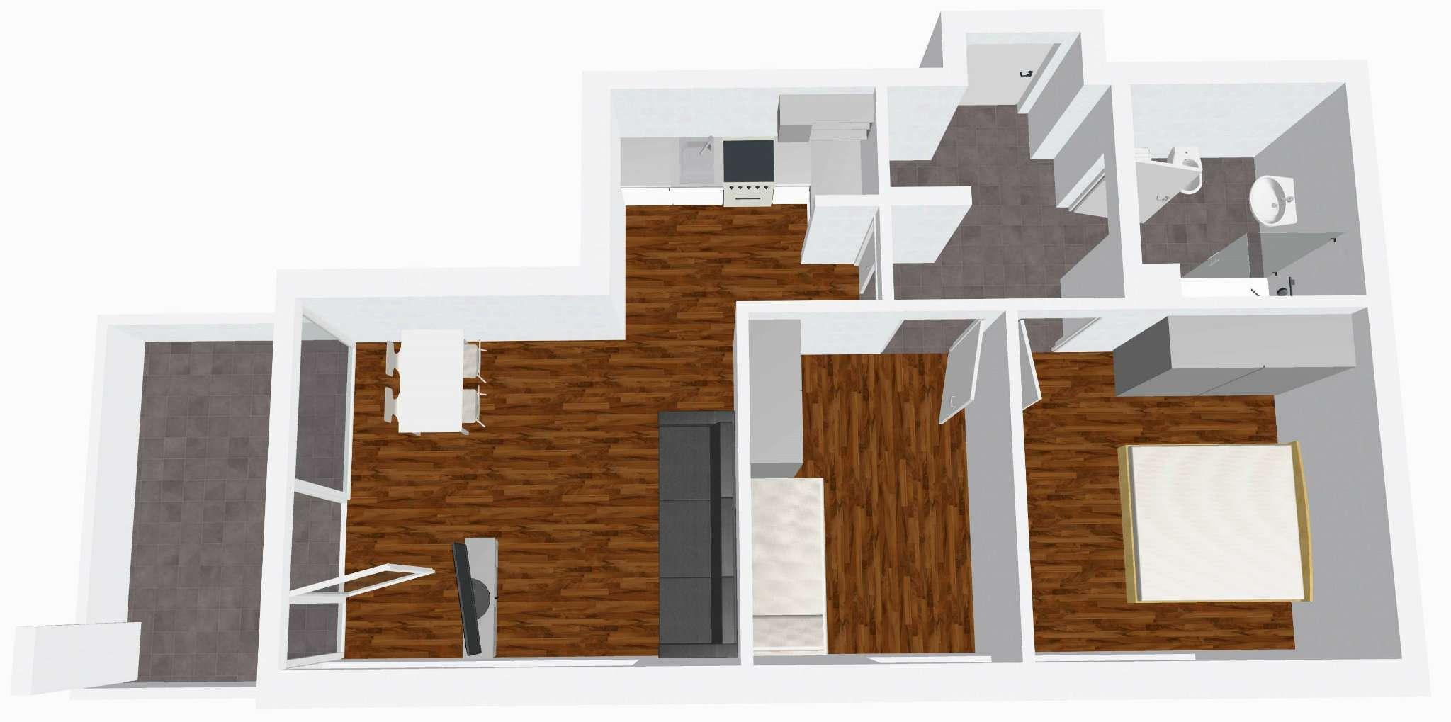 Attico / Mansarda in vendita a Bressanone, 3 locali, prezzo € 275.000   Cambio Casa.it