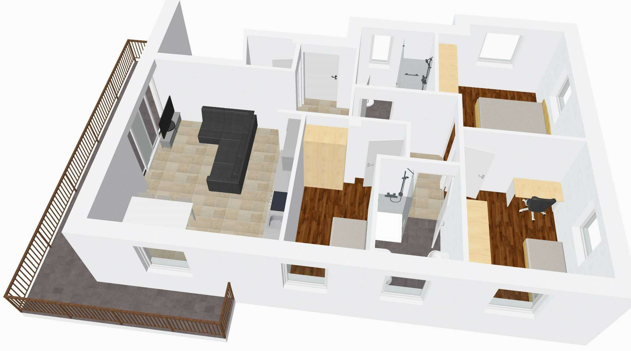 Appartamento in vendita a Marebbe, 4 locali, prezzo € 430.000   Cambio Casa.it