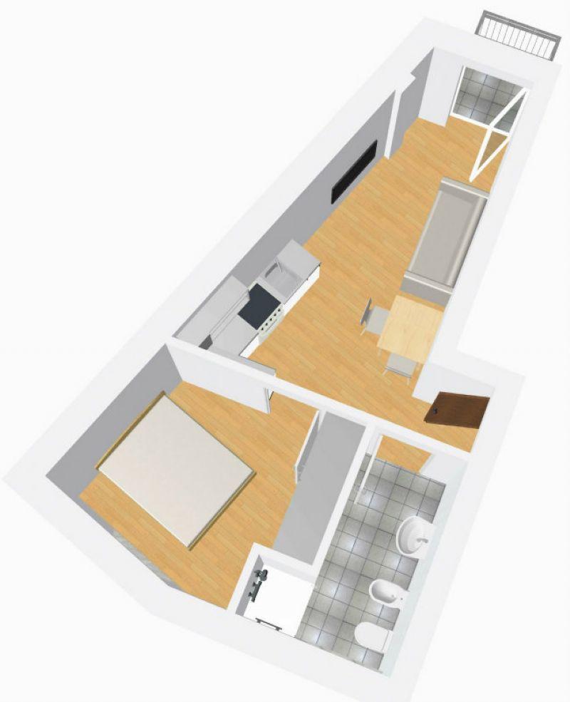 Appartamento in vendita a Prato allo Stelvio, 2 locali, prezzo € 110.000 | Cambio Casa.it