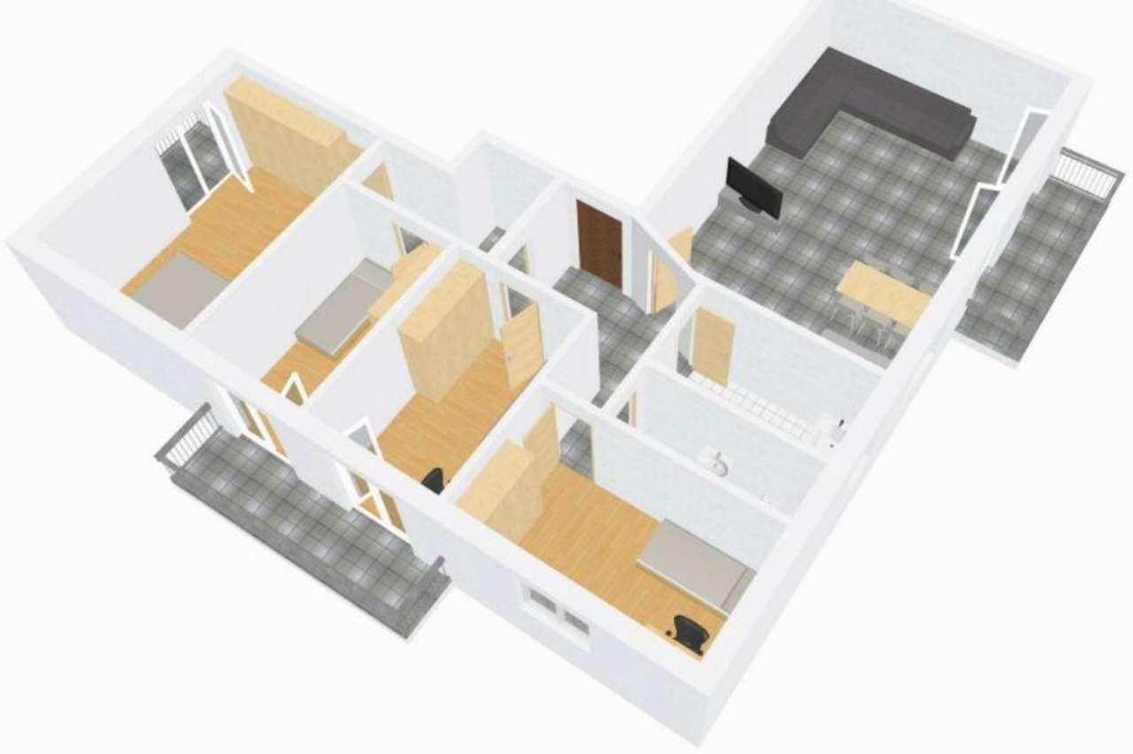 Attico / Mansarda in vendita a Laives, 5 locali, prezzo € 330.000 | Cambio Casa.it