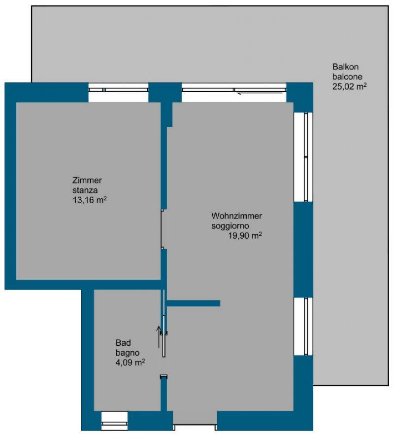Vendita  bilocale Chiusa Via Scuola 1 621015