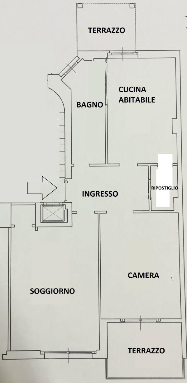 Bilocale Milano Via Via Teodosio 2