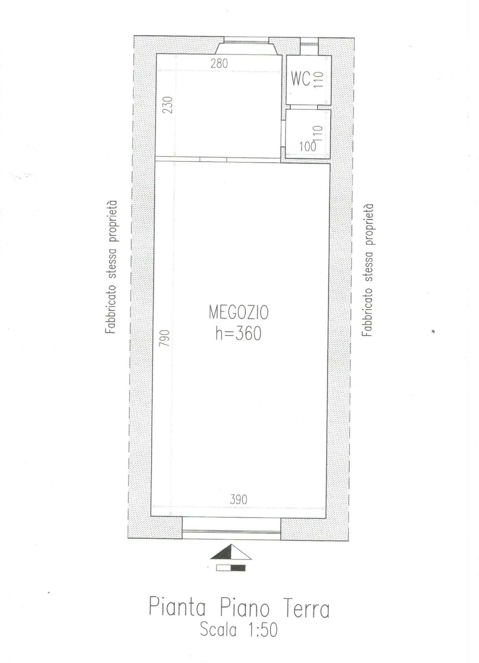 Negozio / Locale in affitto a Arezzo, 2 locali, prezzo € 600 | CambioCasa.it