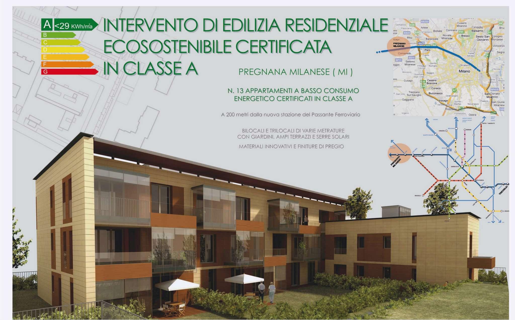 Appartamento in Vendita a Pregnana Milanese