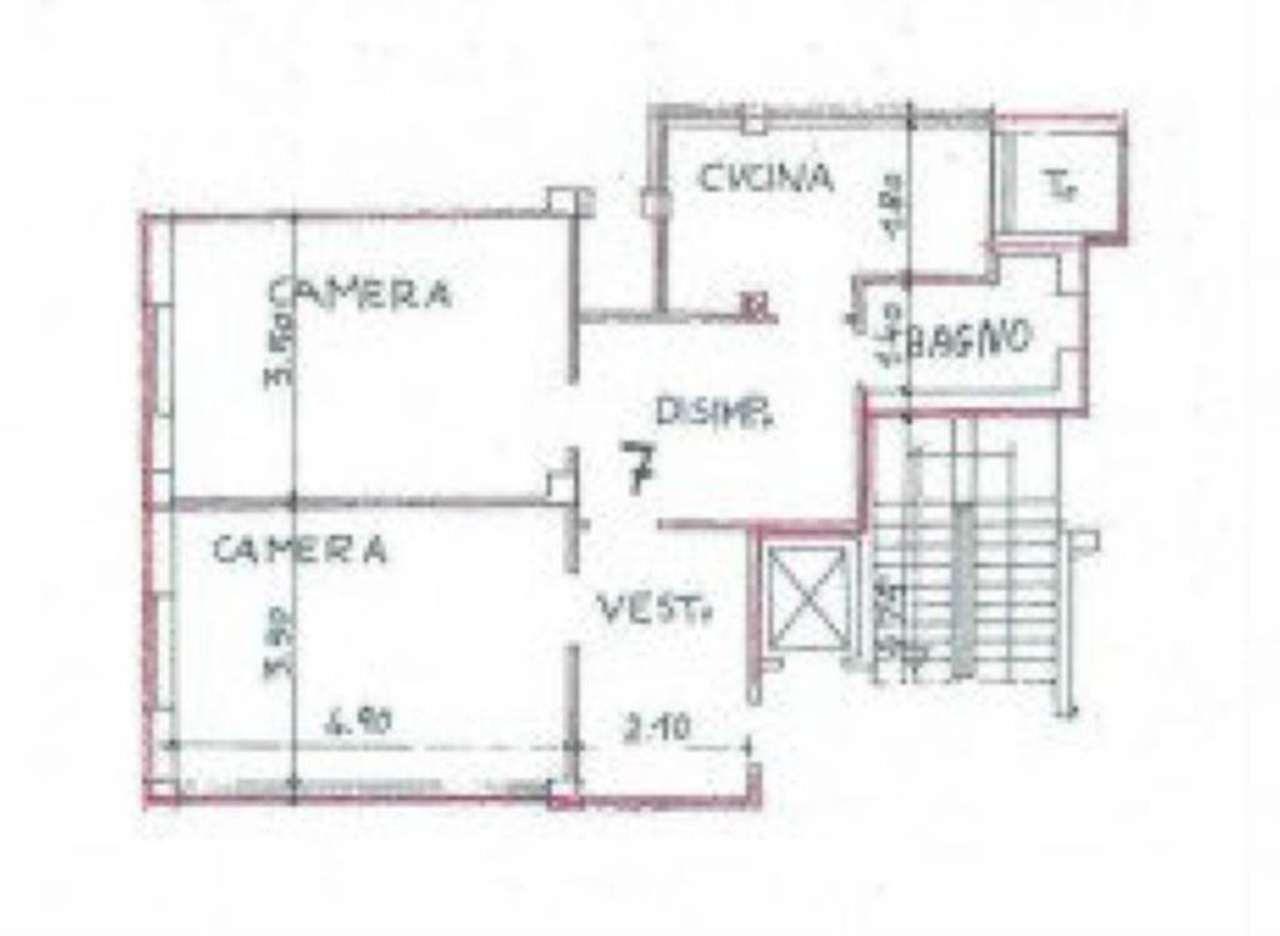 Affitto  bilocale Milano  1 897735