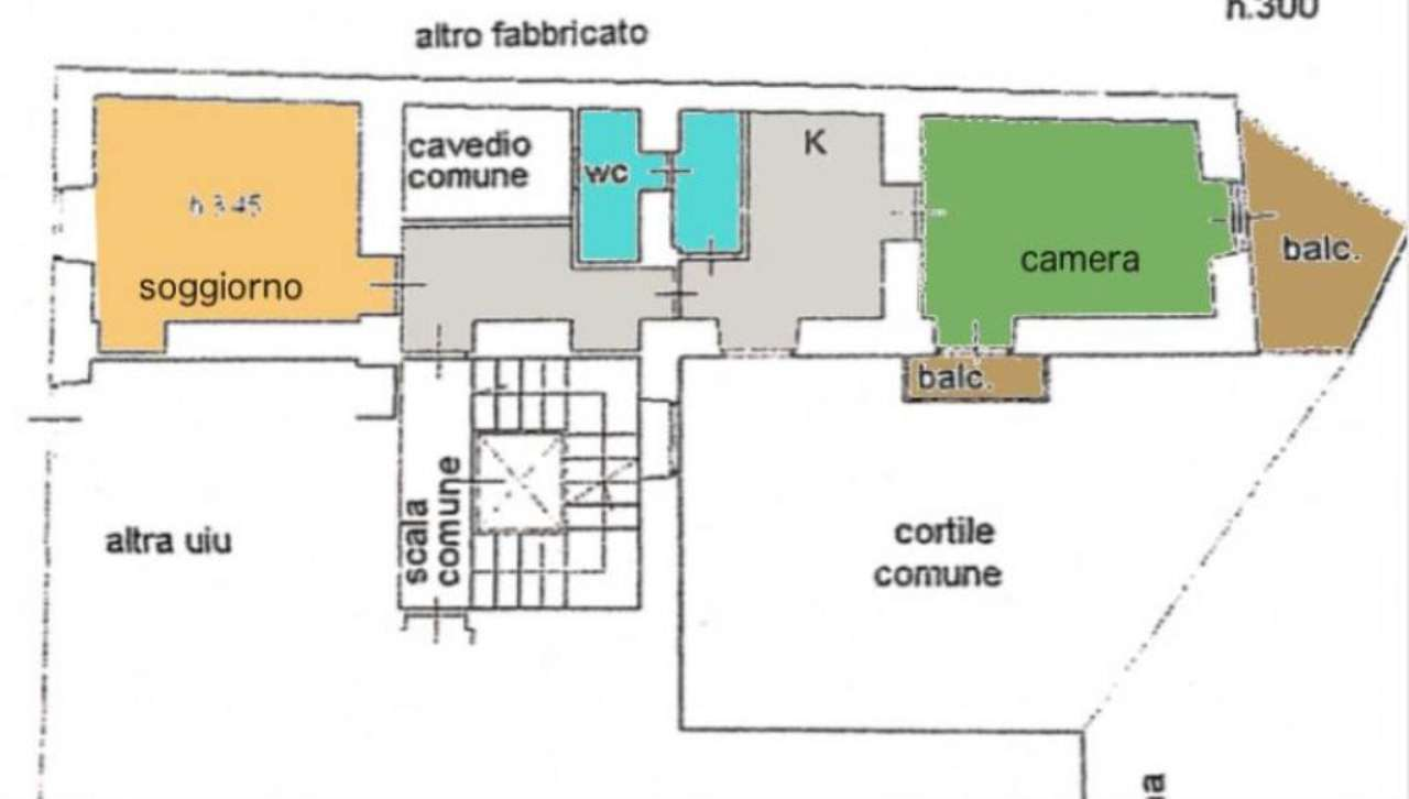 Affitto  bilocale Milano Corso Di Porta Romana 1 1043616