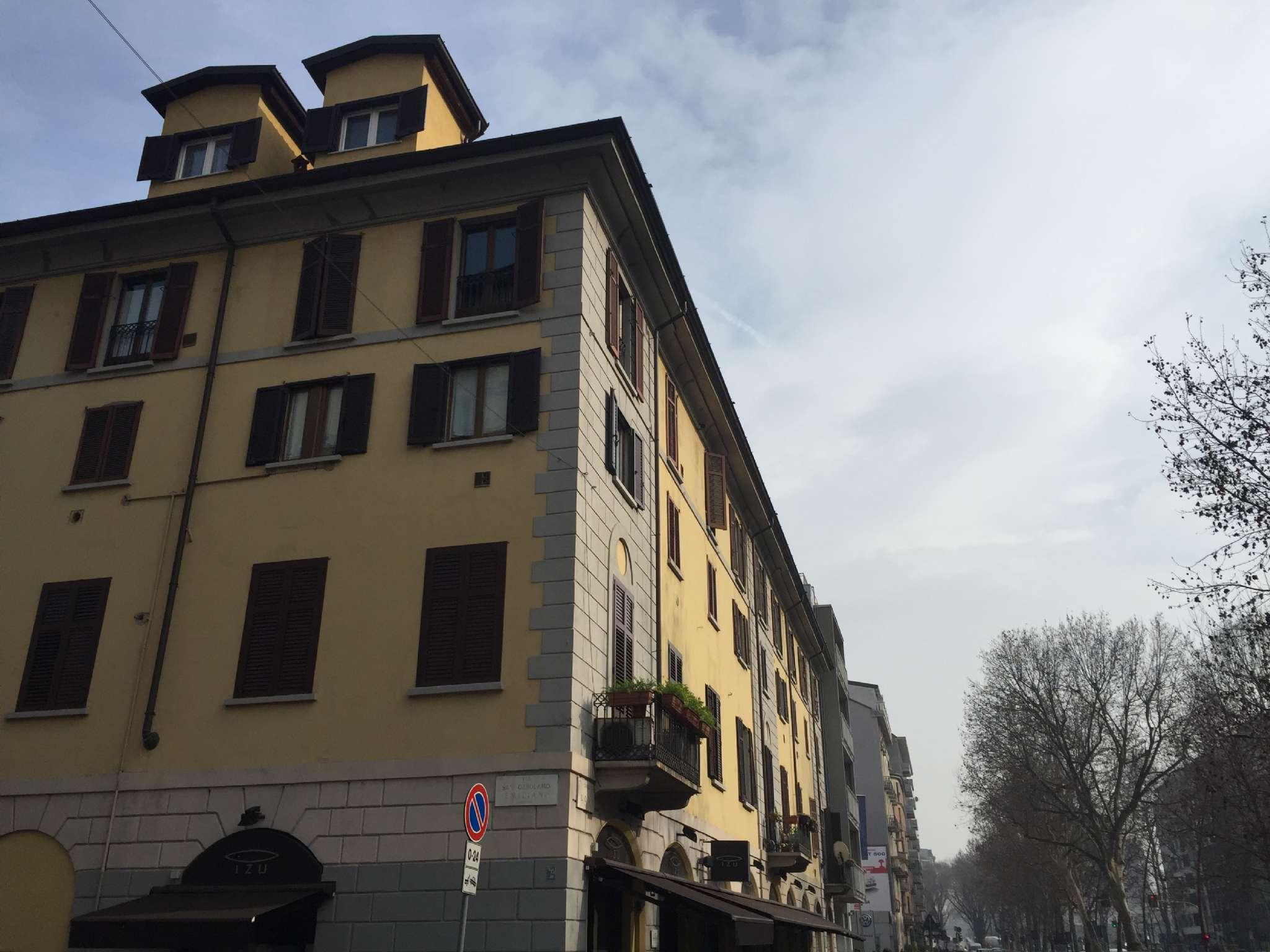 Loft / Openspace in affitto a Milano, 2 locali, zona Zona: 6 . V Giornate, XXII Marzo, P.ta Romana, Viale Corsica, Tribunale, Policlinico, prezzo € 850 | Cambio Casa.it