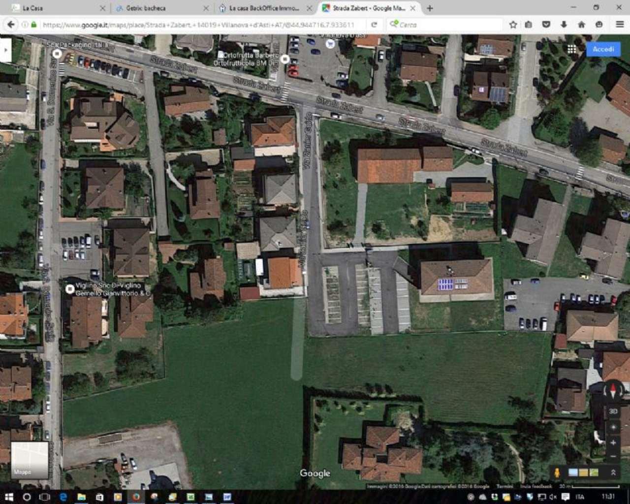 Terreno Edificabile Residenziale in Vendita a Villanova d'Asti