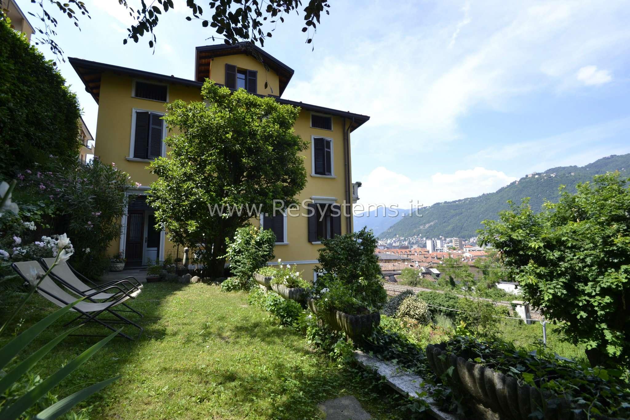 Soluzione Indipendente in vendita a Como, 4 locali, zona Zona: 5 . Borghi, prezzo € 490.000 | CambioCasa.it