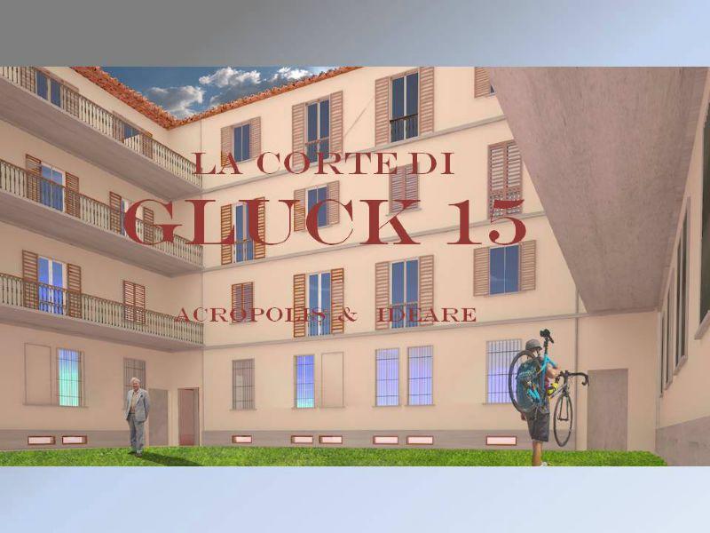 Bilocale Milano Via Gluck 2