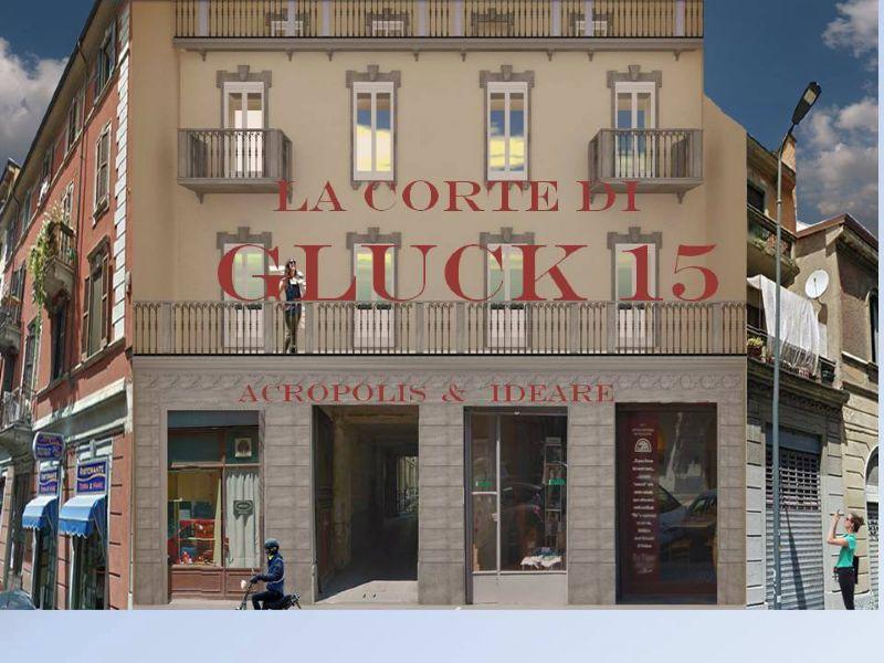 Bilocale Milano Via Gluck 4