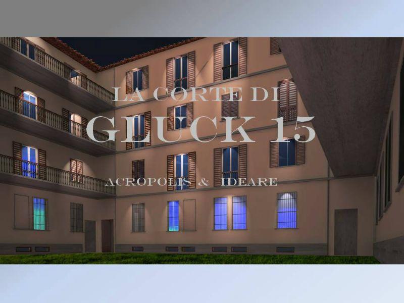 Bilocale Milano Via Gluck 7