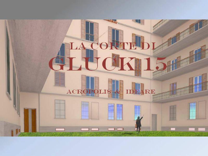 Bilocale Milano Via Gluck 9