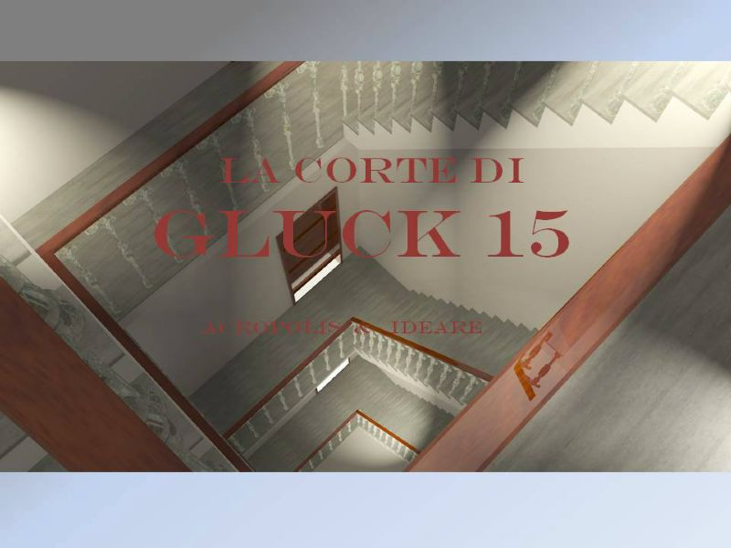 Bilocale Milano Via Gluck 11
