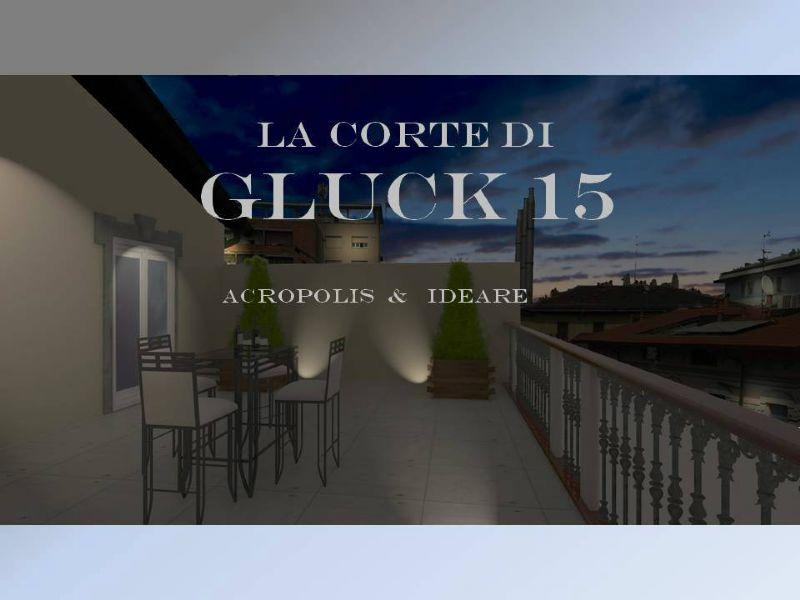 Bilocale Milano Via Gluck 1