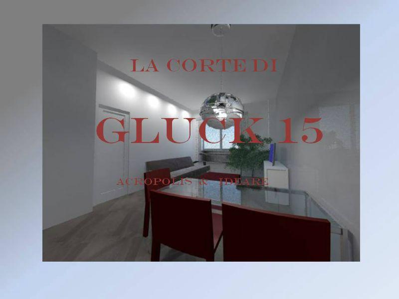 Bilocale Milano Via Gluck 8