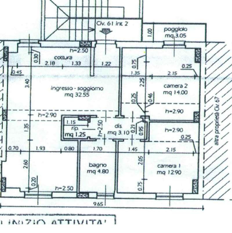 Appartamento in affitto a Sestri Levante, 5 locali, prezzo € 650 | Cambio Casa.it