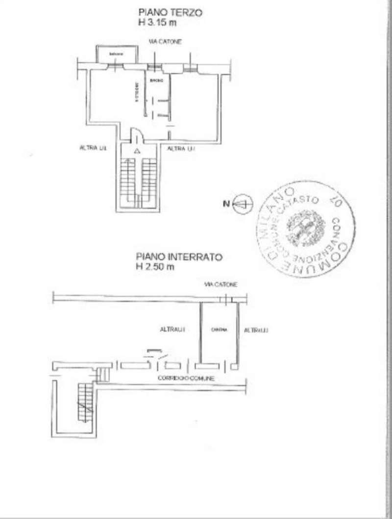 Vendita  bilocale Milano Piazzale Nigra 1 1032533