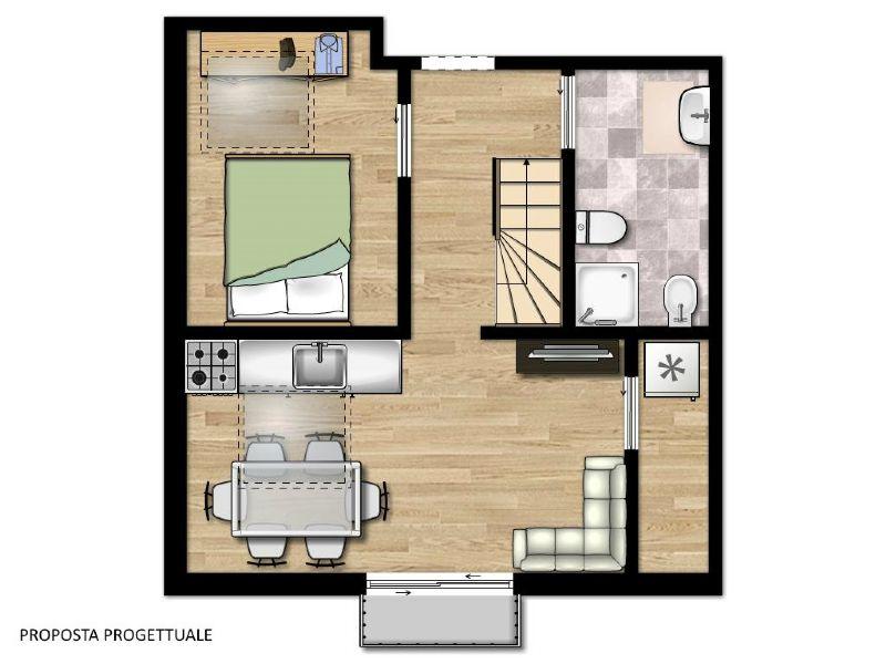 Appartamento in vendita a Varena, 3 locali, prezzo € 135.000 | Cambio Casa.it