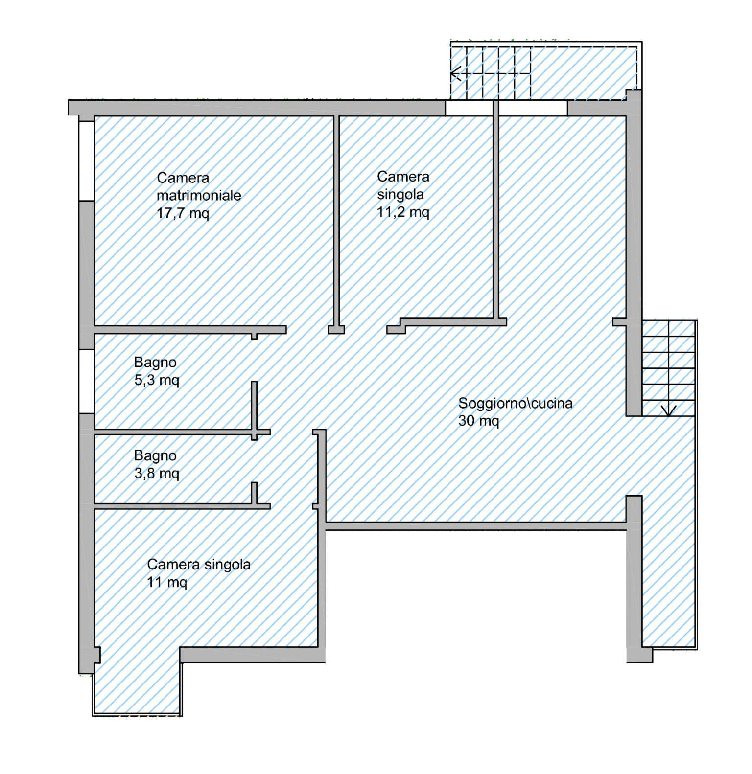 Appartamento in vendita a Forlimpopoli, 6 locali, prezzo € 225.000 | CambioCasa.it