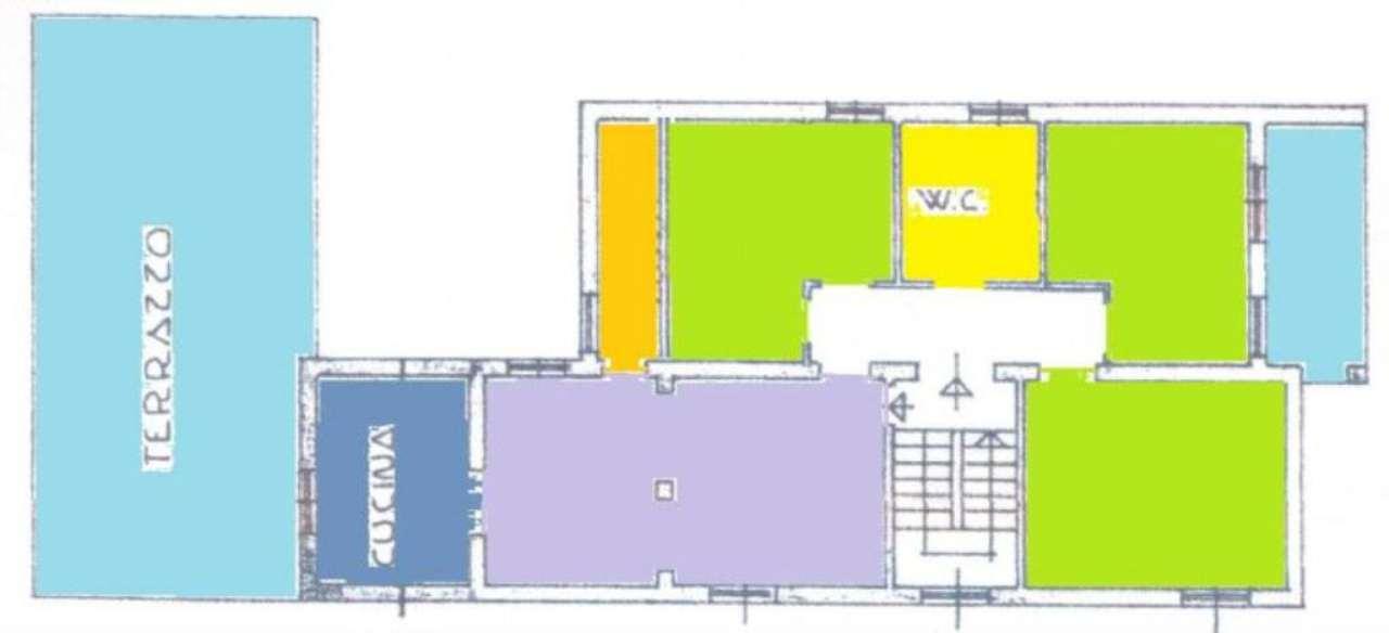 Appartamento in vendita a Porto Sant'Elpidio, 7 locali, prezzo € 115.000 | Cambio Casa.it