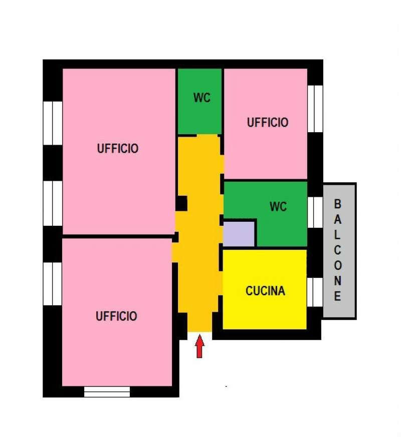 Ufficio / Studio in Affitto a Sesto San Giovanni
