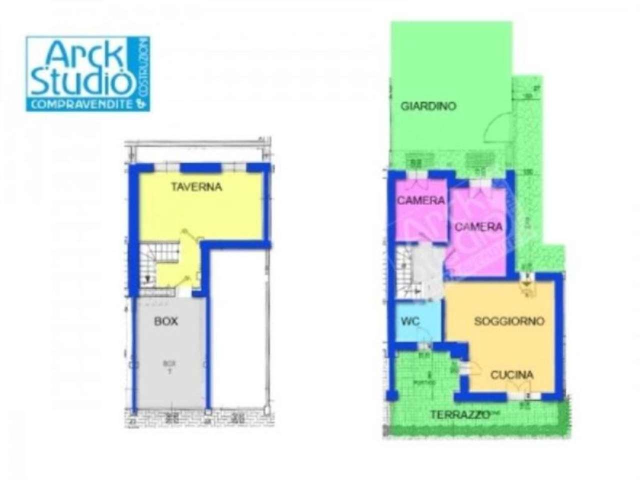 Appartamento in vendita a Inzago, 3 locali, prezzo € 255.000 | Cambio Casa.it