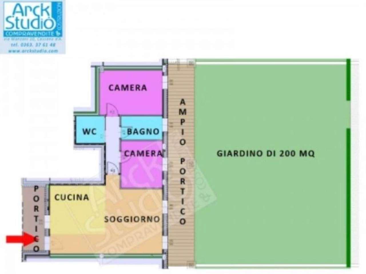 Soluzione Indipendente in vendita a Cassano d'Adda, 3 locali, prezzo € 250.920 | CambioCasa.it