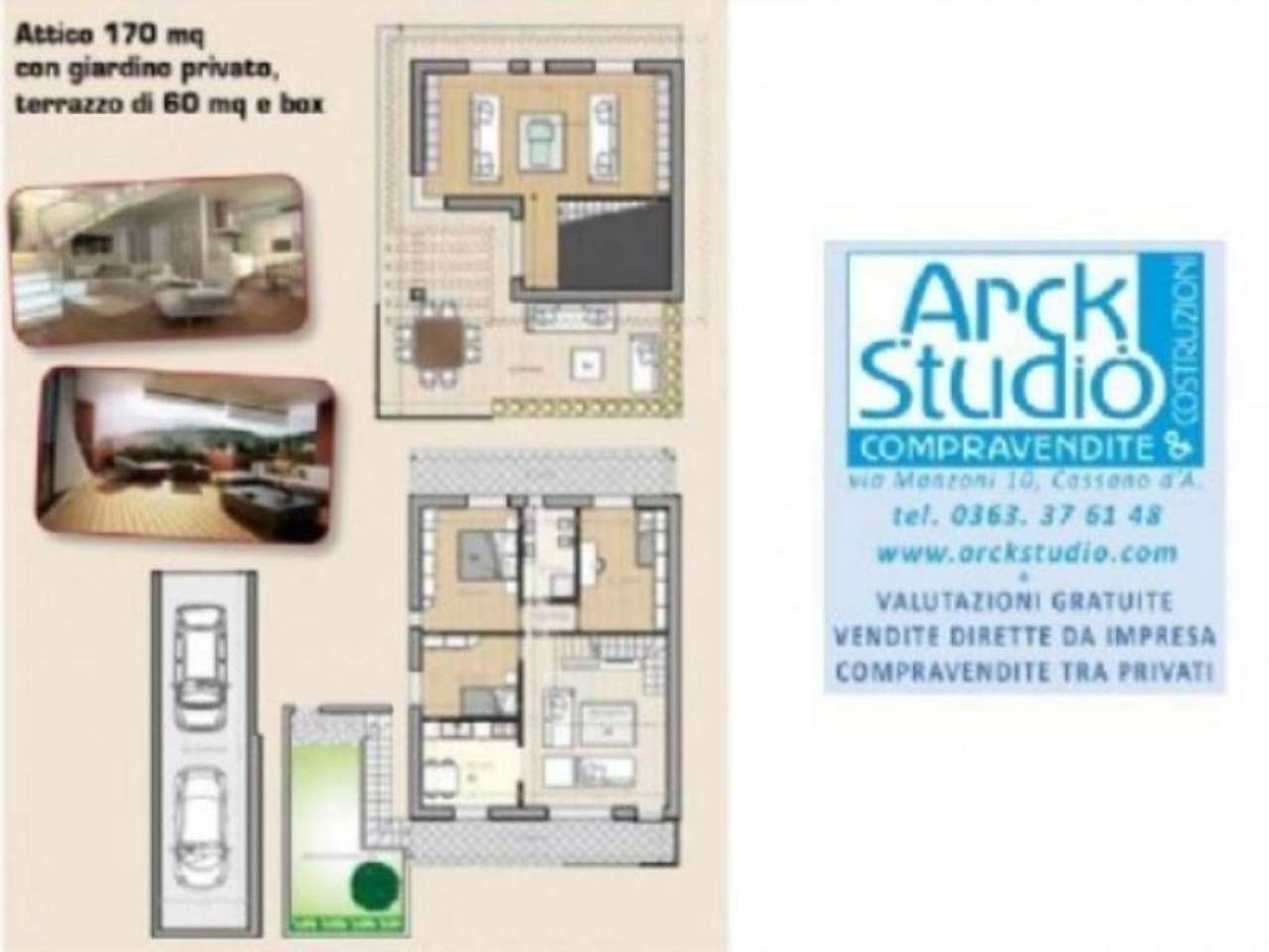 Attico / Mansarda in vendita a Vaprio d'Adda, 5 locali, prezzo € 285.000 | Cambio Casa.it