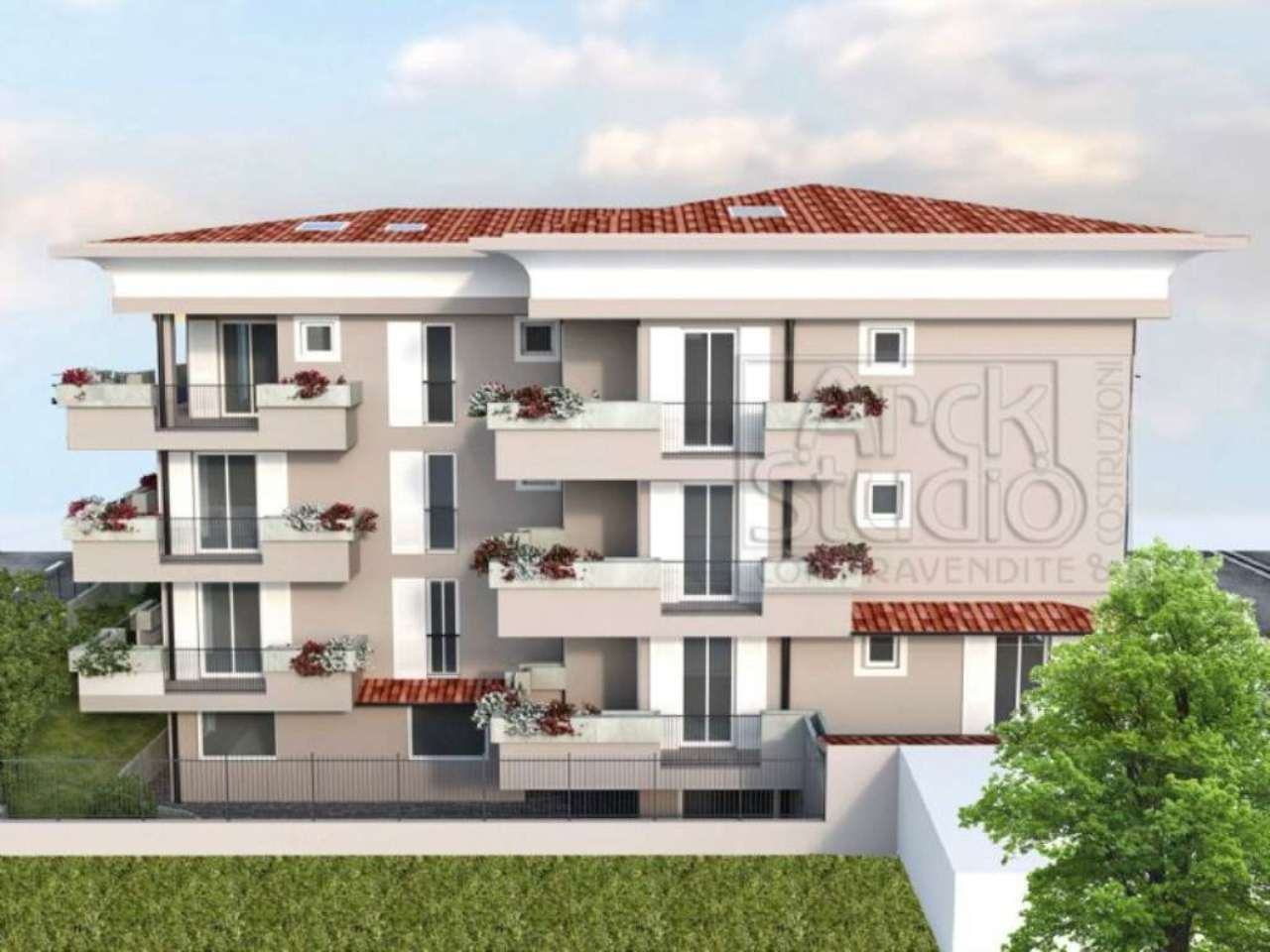 Appartamento in vendita a Inzago, 3 locali, prezzo € 195.000 | Cambio Casa.it