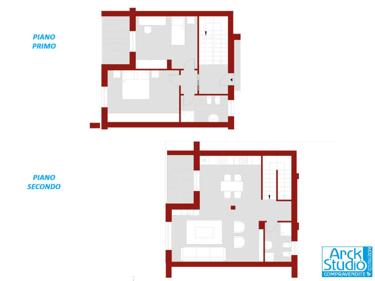 Appartamento in vendita a Casirate d'Adda, 3 locali, prezzo € 205.000 | CambioCasa.it