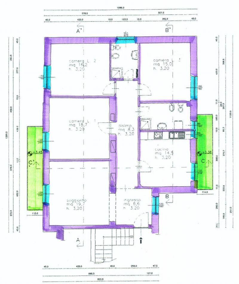 Appartamento in vendita a Asti, 5 locali, prezzo € 245.000 | Cambio Casa.it