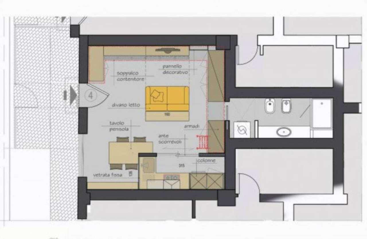 Appartamento in Vendita a Bologna Semicentro Est: 1 locali, 42 mq