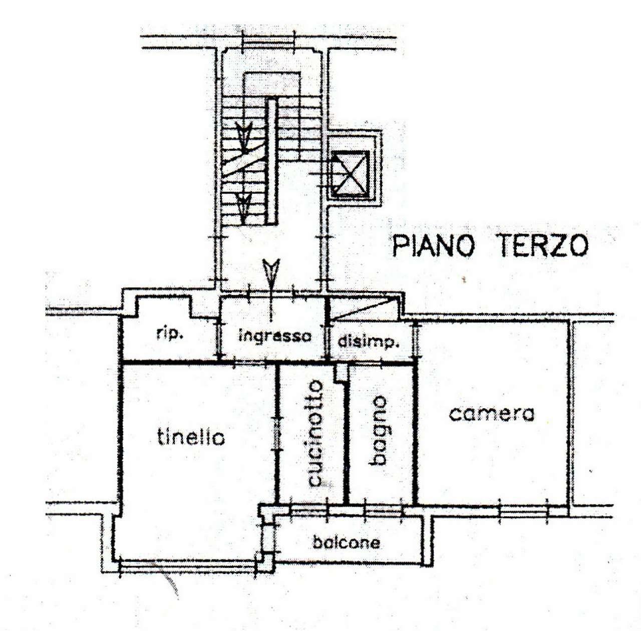 Appartamento in Affitto a Bologna Semicentro Nord: 2 locali, 69 mq