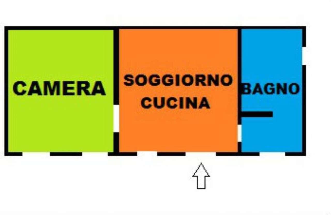 Bilocale Arcore Via S. Gregorio 2