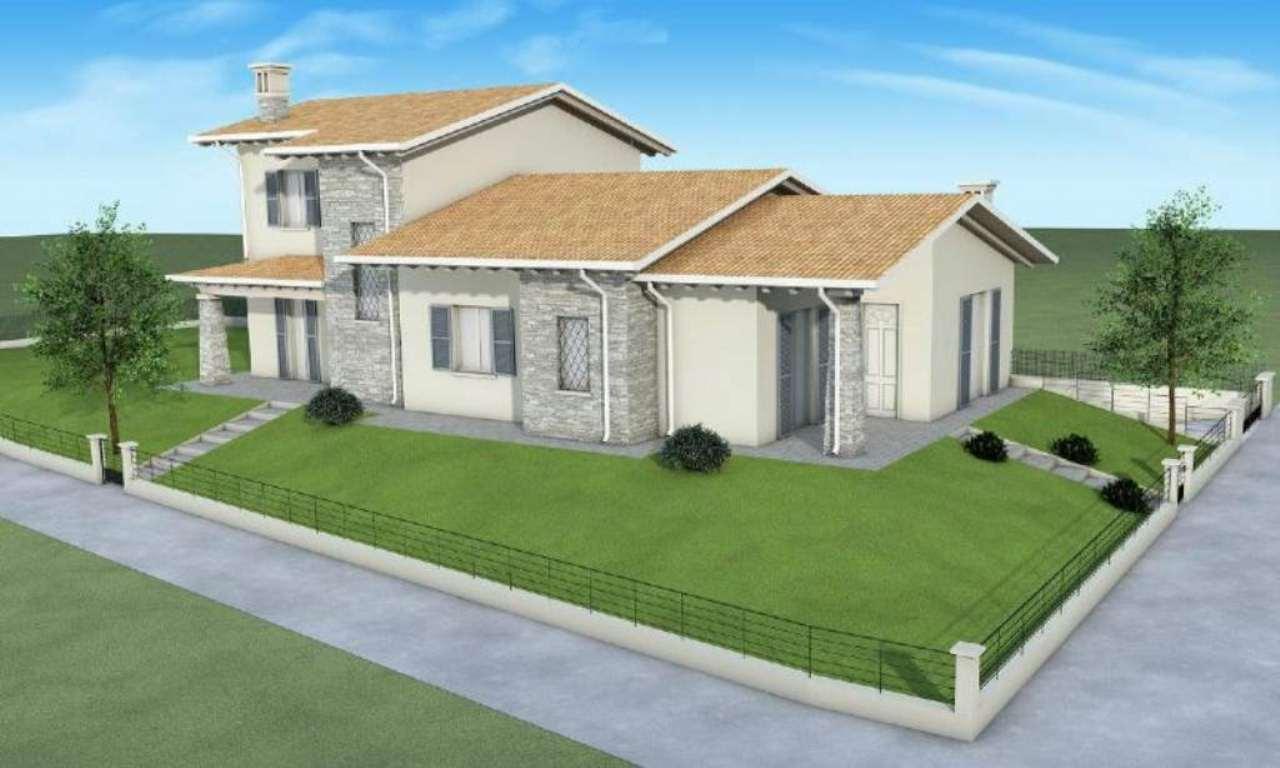 Villa Bifamiliare in vendita a San Zeno Naviglio, 3 locali, prezzo € 340.000 | Cambio Casa.it