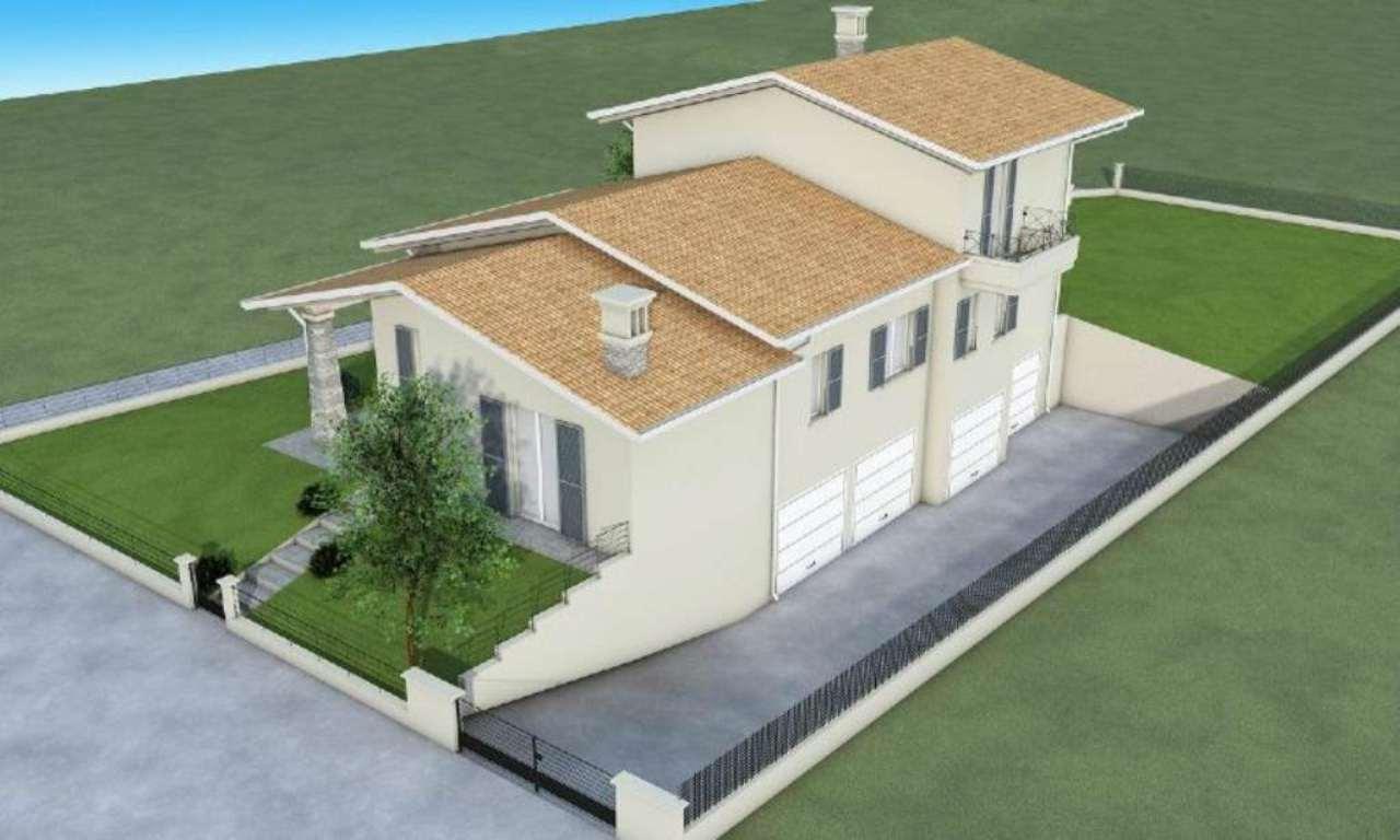 Villa Bifamiliare in vendita a San Zeno Naviglio, 4 locali, prezzo € 390.000 | Cambio Casa.it