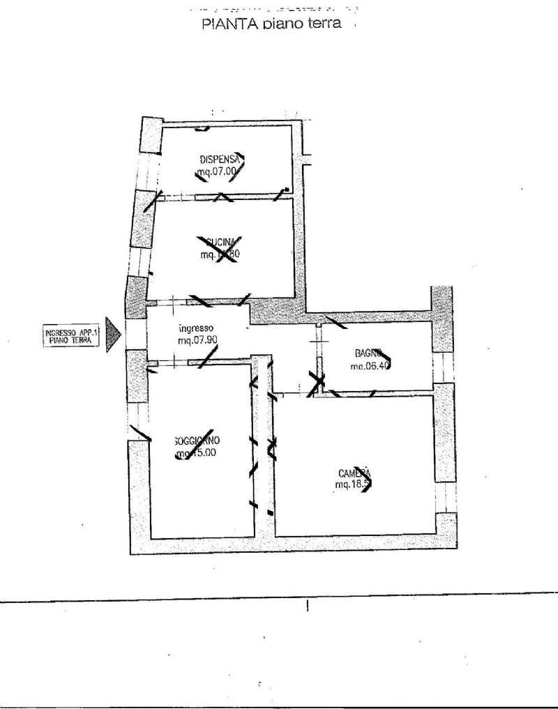 Appartamento in vendita a Castenedolo, 2 locali, prezzo € 25.000 | Cambio Casa.it