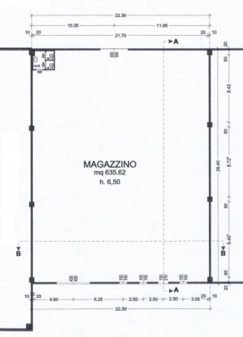 Capannone in vendita a Montirone, 1 locali, prezzo € 470.000 | Cambio Casa.it