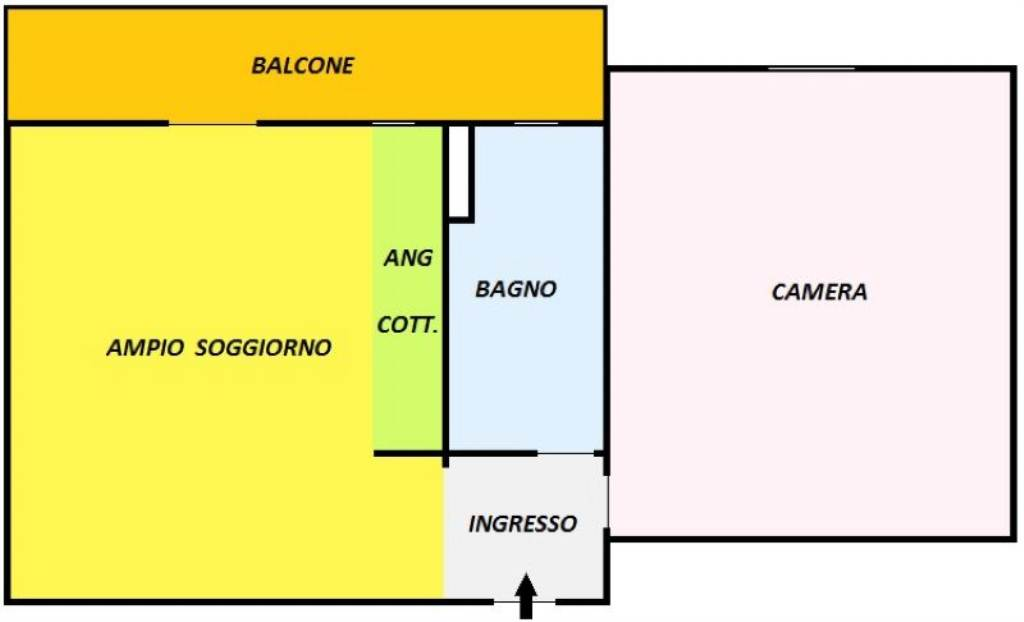 Vendita  bilocale Torino Via Boito 1 873660
