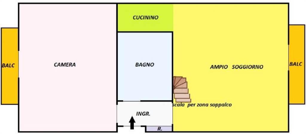 Vendita  bilocale Torino Via Pisa 1 929364