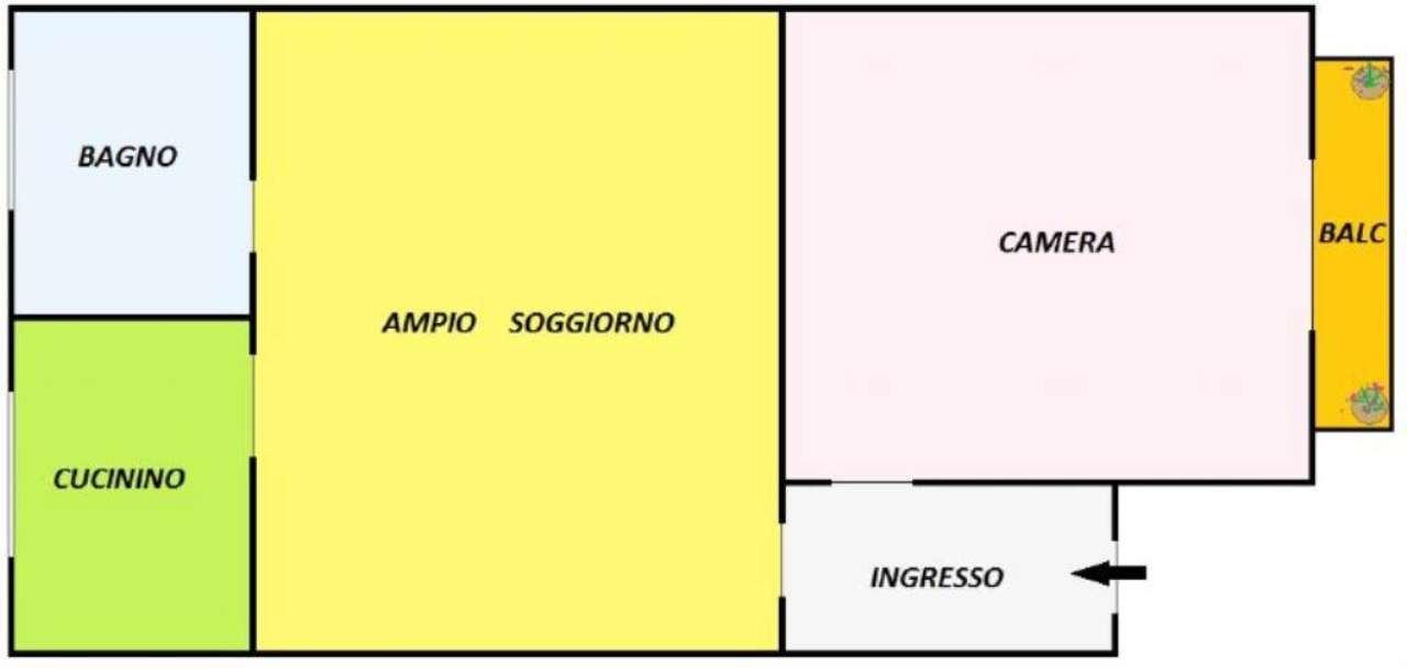 Vendita  bilocale Torino Via Scarlatti 1 993832