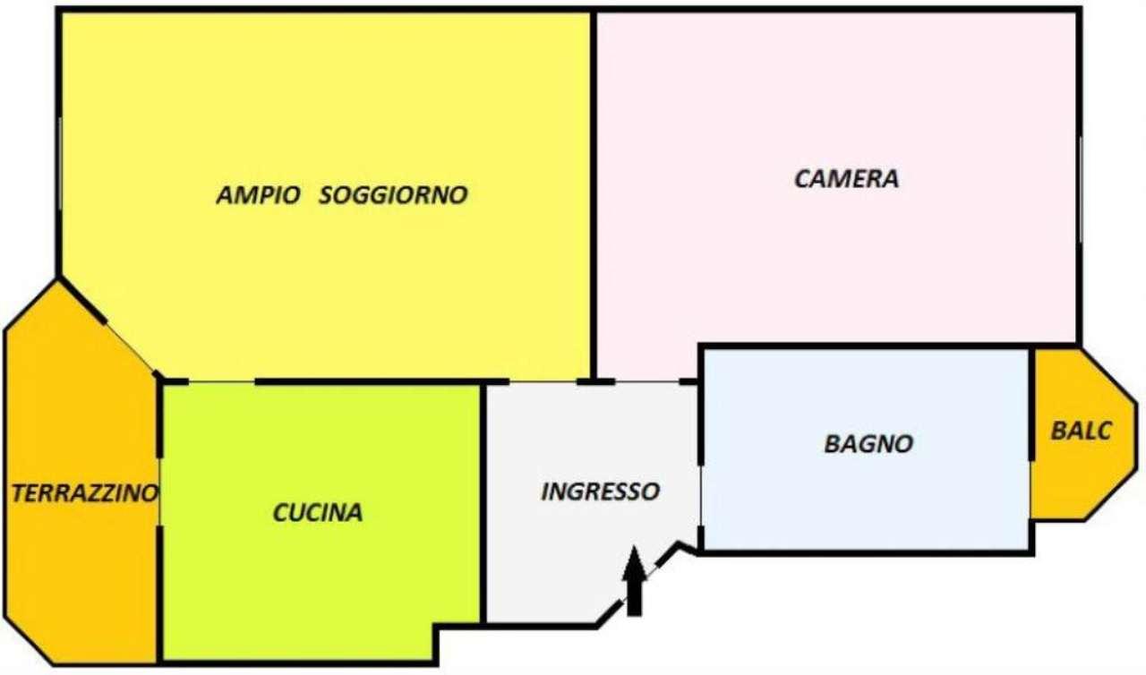 Vendita  bilocale Torino Via Petrella 1 834921