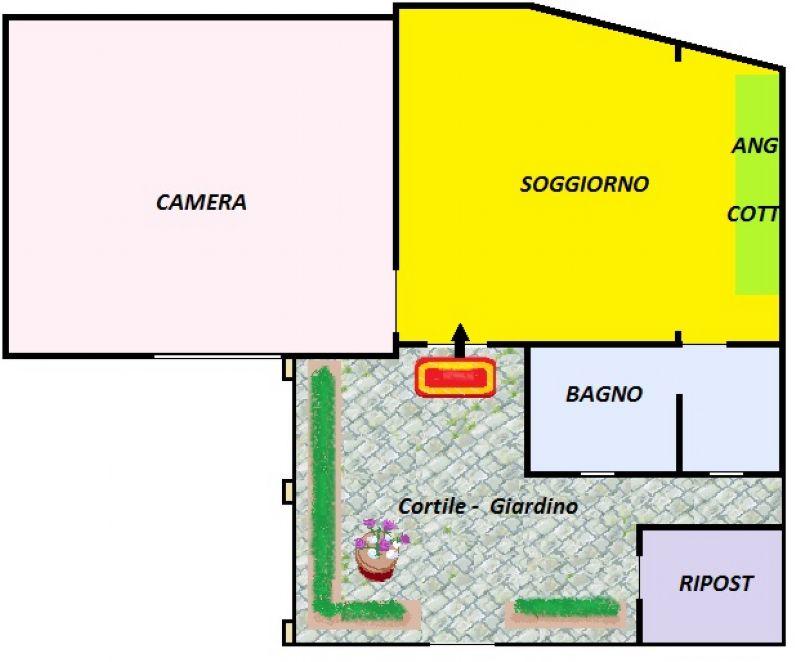 Vendita  bilocale Torino Via Cherubini 1 835144