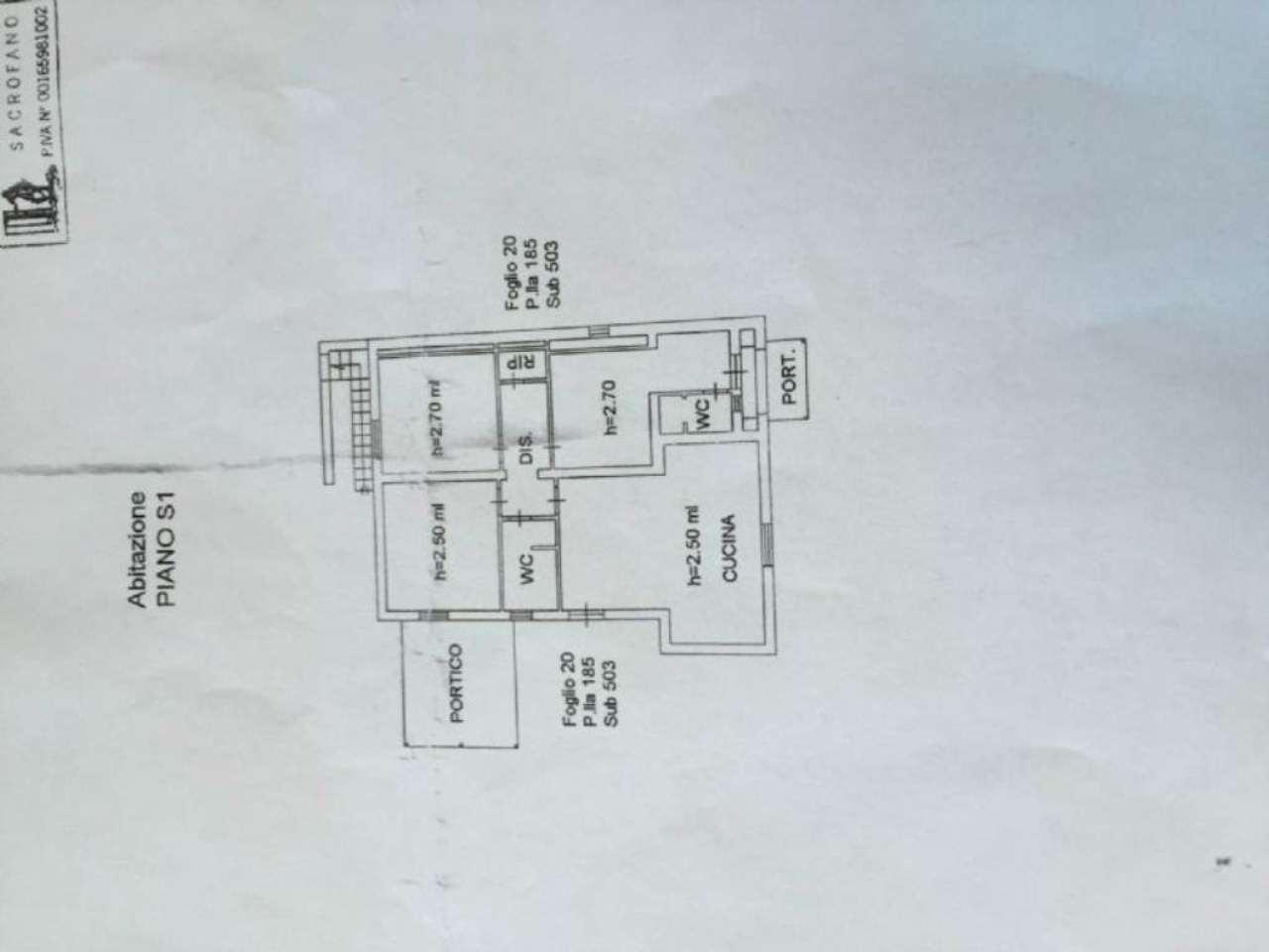 Villa in vendita a Sacrofano, 4 locali, prezzo € 185.000 | Cambio Casa.it