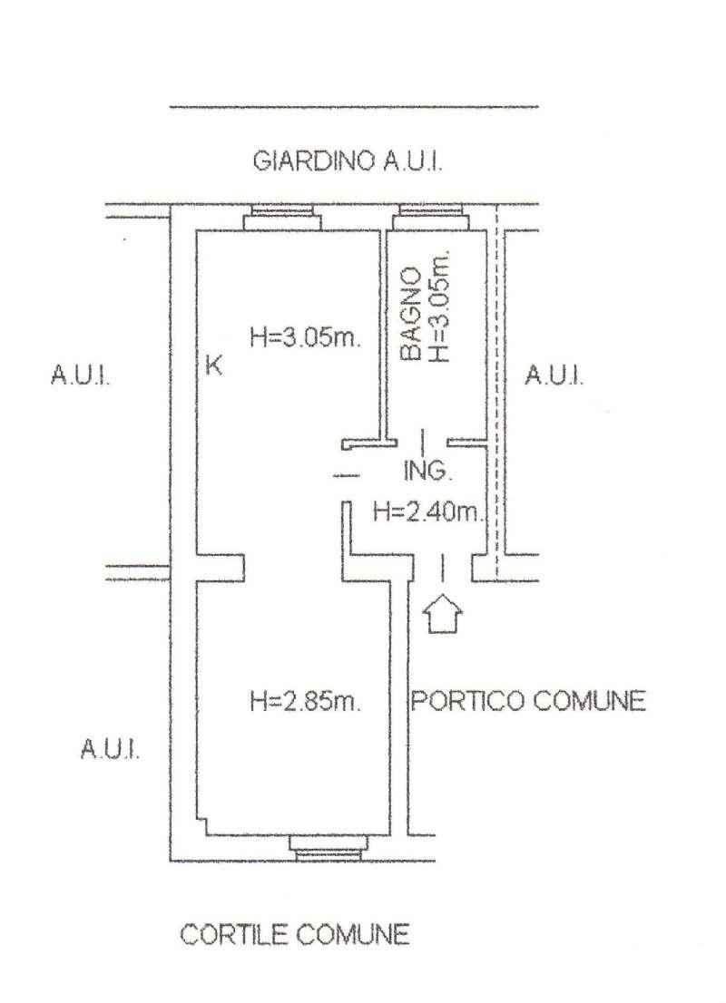 Appartamento in affitto a Gerenzano, 2 locali, prezzo € 200 | CambioCasa.it