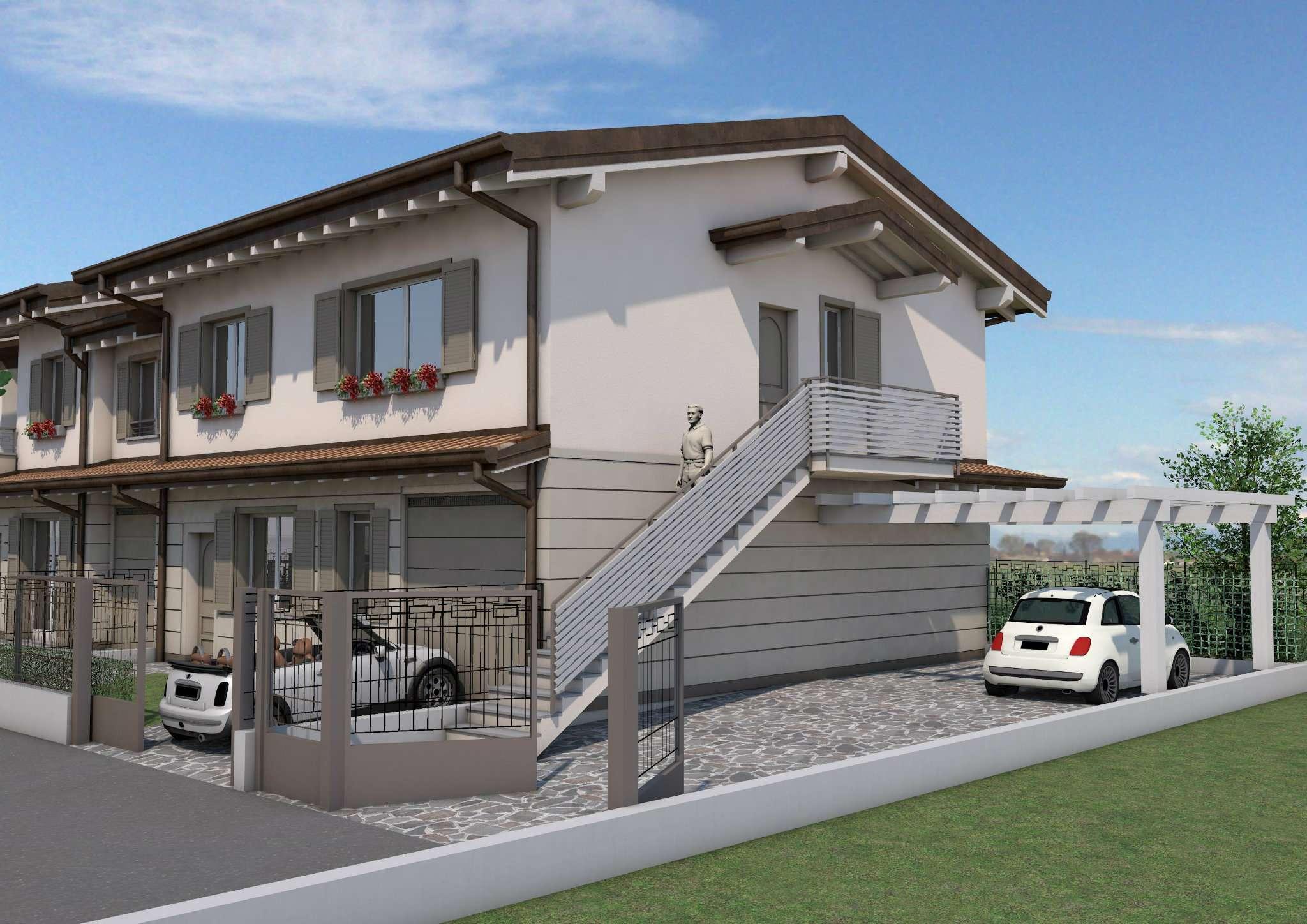 Soluzione Indipendente in vendita a Caravaggio, 4 locali, prezzo € 184.000 | Cambio Casa.it