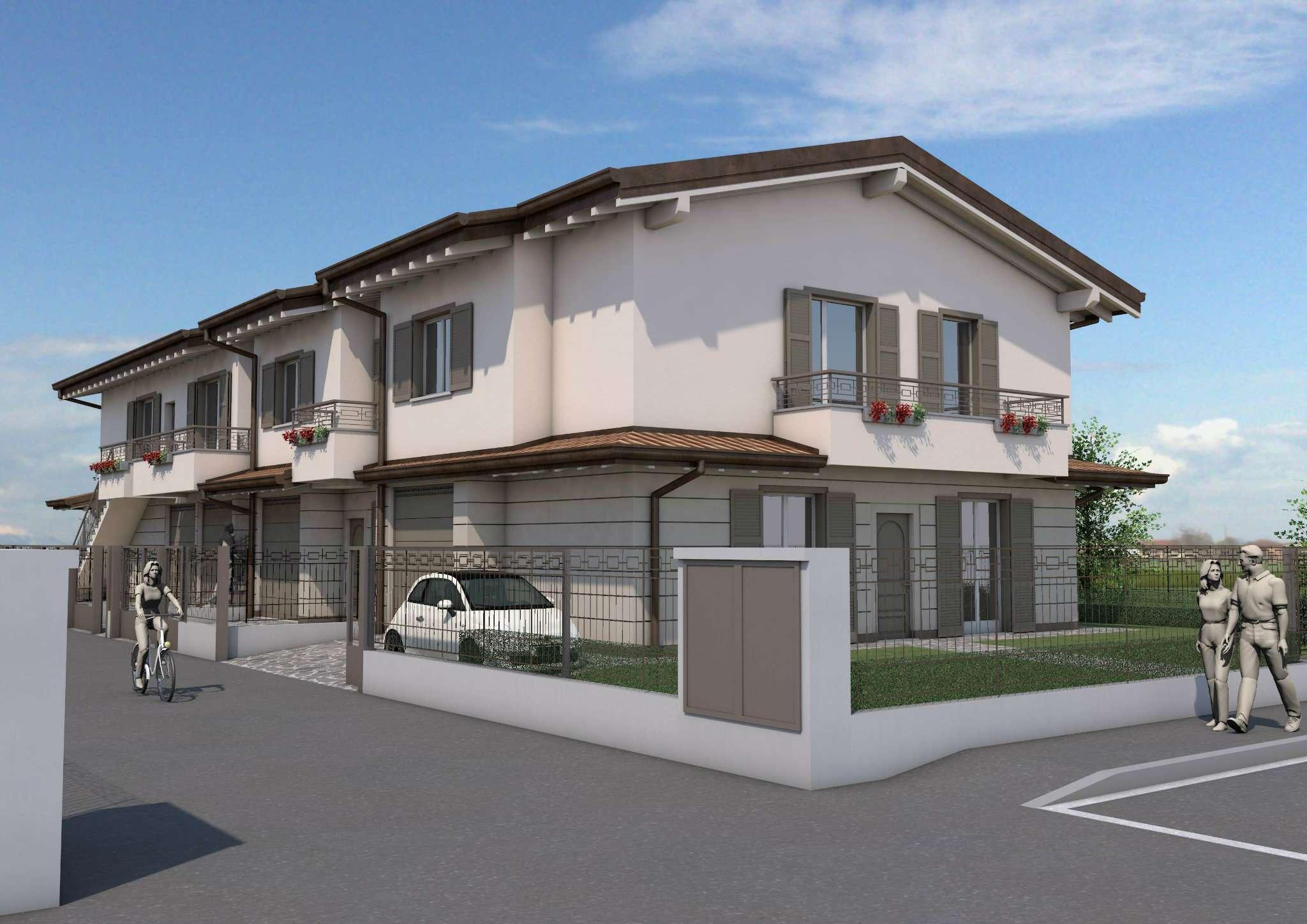 Villa in vendita a Caravaggio, 4 locali, prezzo € 265.000 | Cambio Casa.it