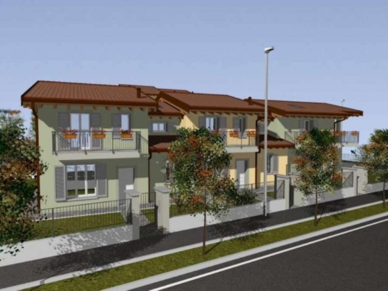 Villa a Schiera in vendita a Mozzanica, 4 locali, prezzo € 235.000 | Cambio Casa.it